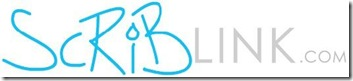 Scriblink the offical blog logo